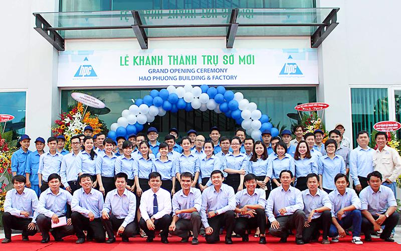 Đội ngũ nhân lực Hạo Phương năm 2016