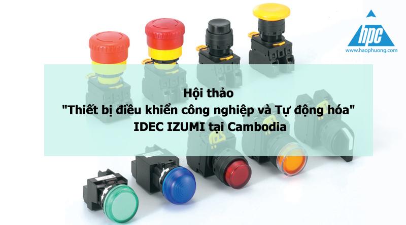 hội thảo thiết bị điện idec cambodia