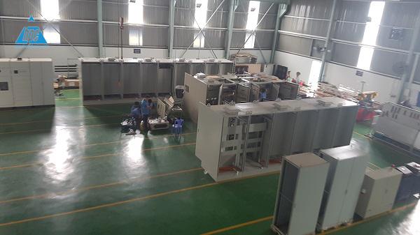 Hạo Phương xuất lô tủ điện dự án Nidec Sankyo F