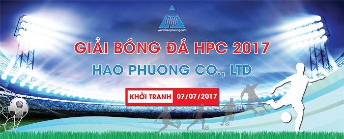 Giải bóng đá nội bộ Hạo Phương 2017