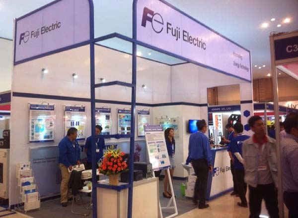 Fuji Electric phối hợp cùng Hạo Phương tham dự triển lãm tại Cambodia, hình ảnh 3