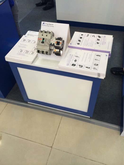 Fuji Electric tham dự triển lãm tại Cambodia