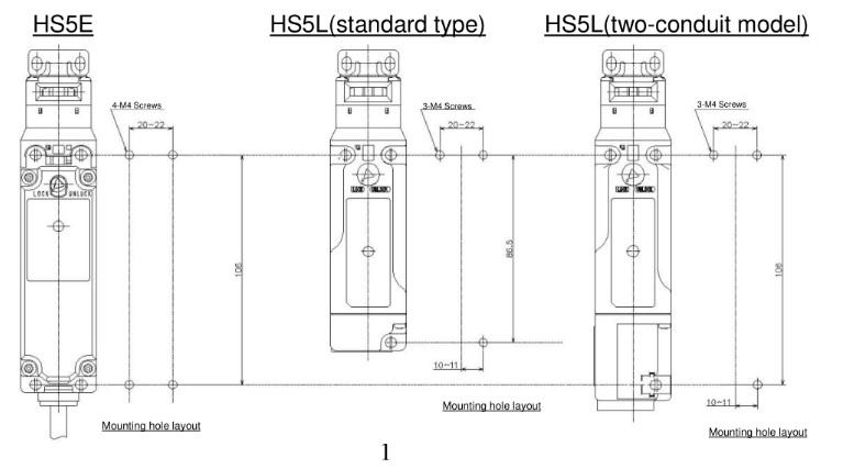 HS5L có kích thước nhỏ gọn hơn so với HS5E
