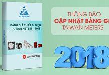 cập nhật bảng giá Taiwan Metters
