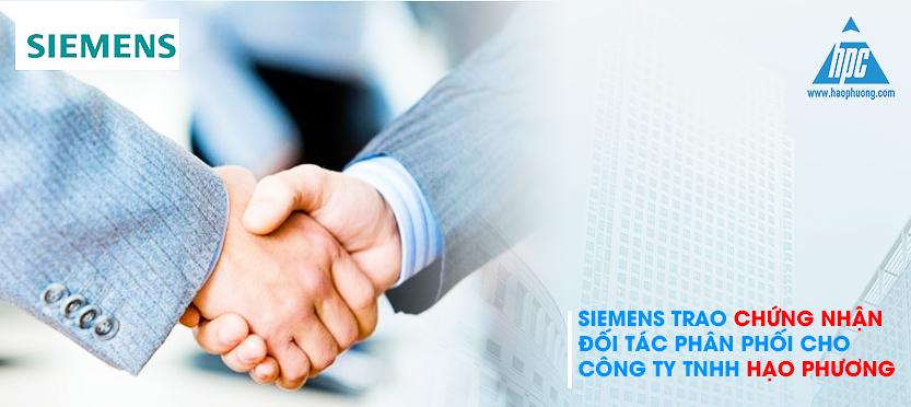 Siemens chứng nhận phân phối