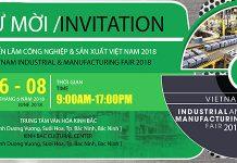 thư mời triển lãm công nghiệp và sản xuất