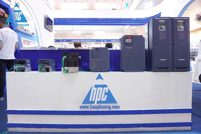 Thiết bị tự động Fuji Electric tại triển lãm
