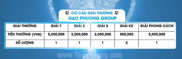 Giải bóng đá Hạo Phương Group 2018, ảnh 2