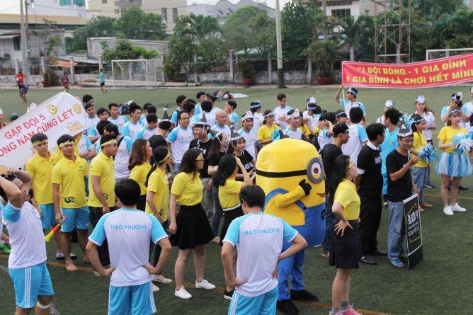 Khai mạc giải bóng đá Hạo Phương 2018, ảnh 1