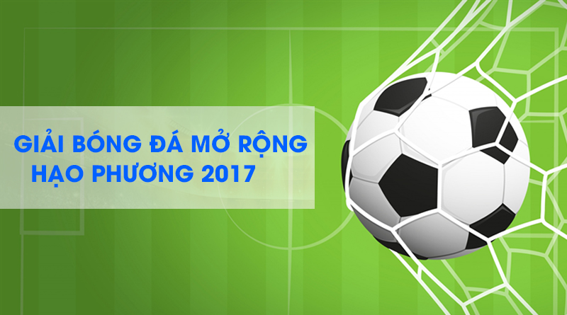Giải bóng đá mở rộng Hạo Phương 2017