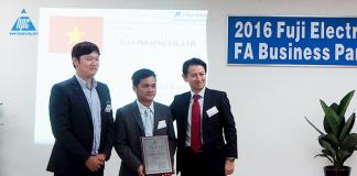 chứng nhận từ hãng fuji electtric