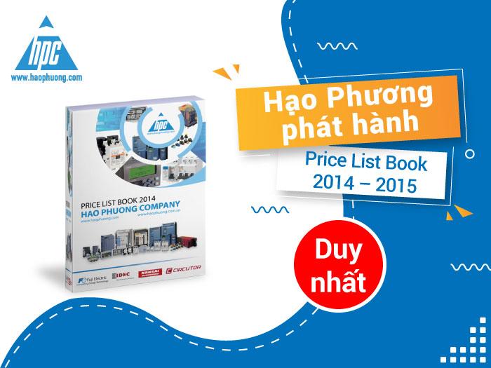 Hạo Phương phát hành bảng giá mới - Price List Book 2014 - 2015