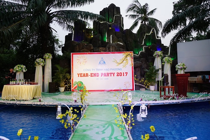 Hạo Phương tổ chức tiệc tất niên 2017, ảnh 1