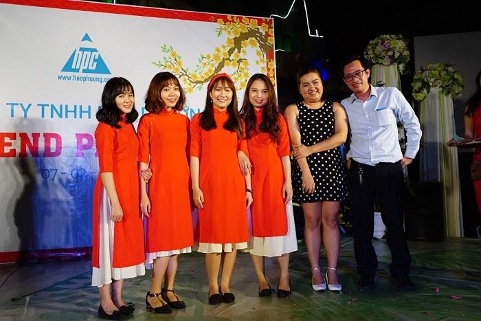 Hạo Phương tổ chức tiệc tất niên 2017, ảnh 9