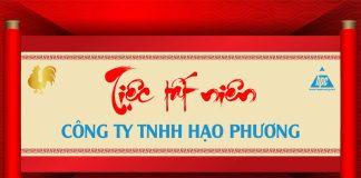 Hạo Phương tổ chức tiệc tất niên 2017