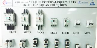 bàn giao phòng demo thiết bị điện cho sình viên