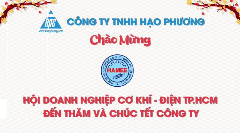 hiệp hội doanh nghiệp Hamee đã đến thăm Hạo Phương