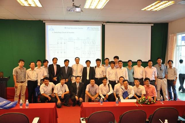 Hội thảo thiết bị điện với trường đại học công nghiệp