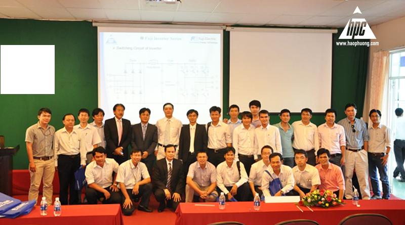 hội thảo thiết bị điện với trường ĐH CN tp HCM