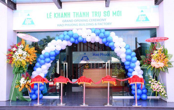 Lễ khánh thành trụ sở mới Cty TNHH Hạo Phương - Tin tức HPC