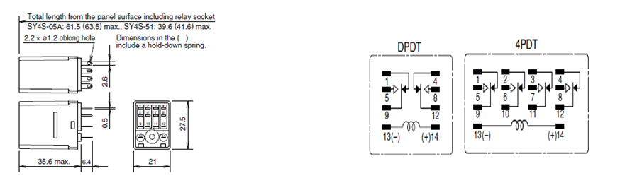 IDEC Relay - Operating principles and diagrams - en ... on idec solid state relays, idec safety relay, idec relay 24v, idec smart relay, idec relay schematic, idec spdt relay, idec relay base,