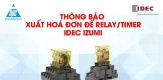 xuất hóa đơn relay timer idec