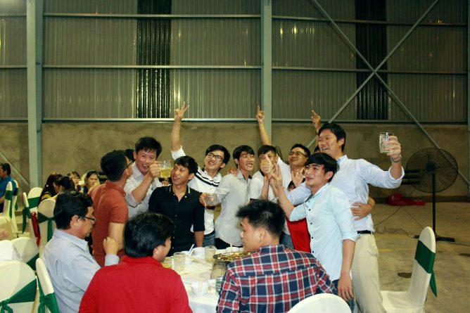buổi tiệc tất niên chào năm mới, hình ảnh 13