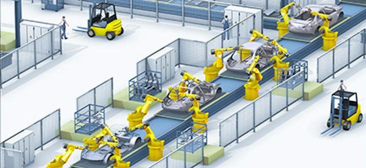 nhà máy tự động hóa