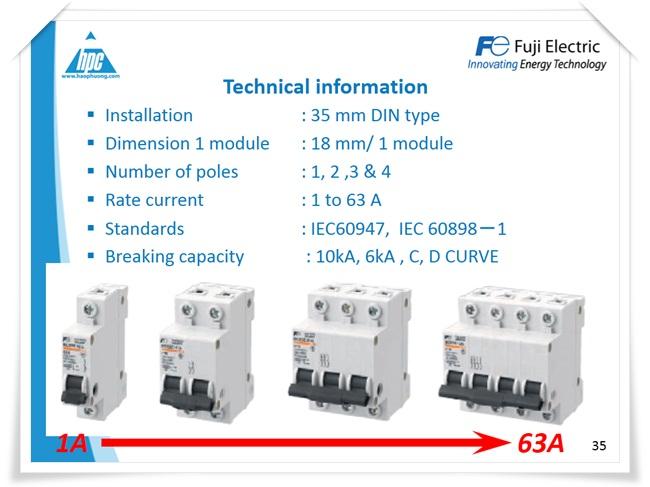 MCB Fuji Electric, ảnh 2