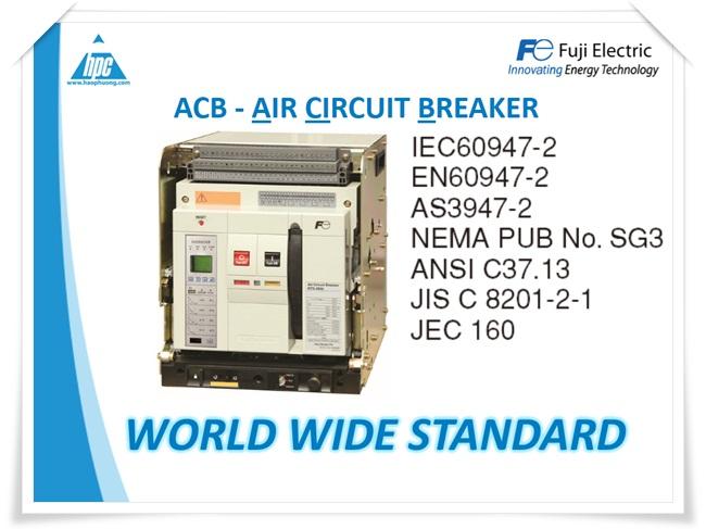 Máy cắt hạ thế ACB Fuji Electric, ảnh 1