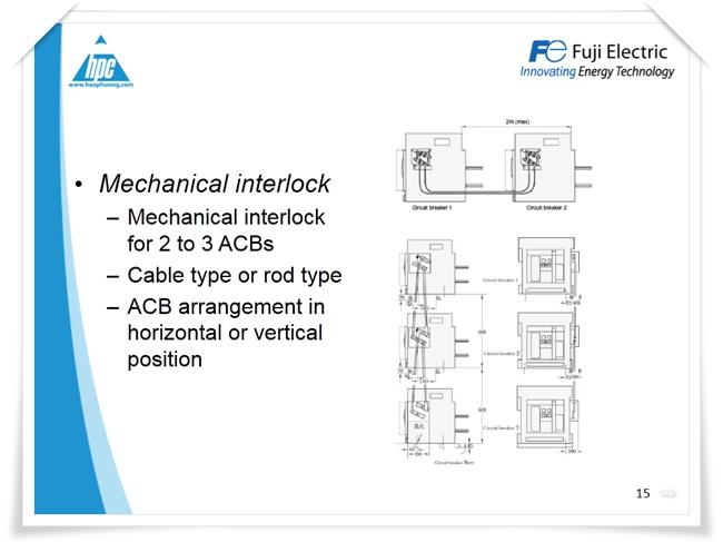 Máy cắt hạ thế ACB Fuji Electric, ảnh 11