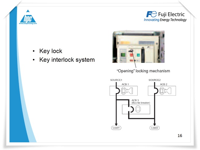 Máy cắt hạ thế ACB Fuji Electric, ảnh 12