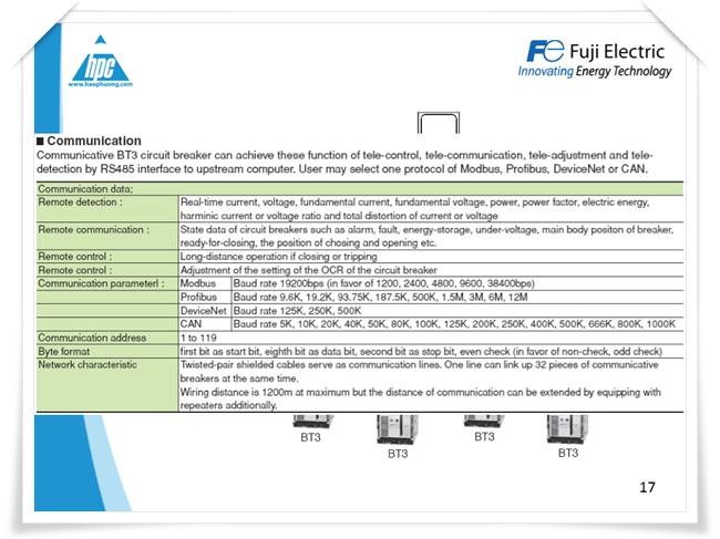 Máy cắt hạ thế ACB Fuji Electric, ảnh 13
