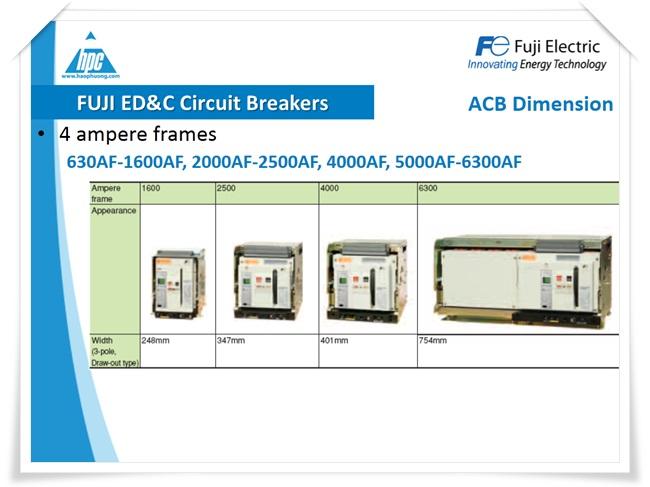 Máy cắt hạ thế ACB Fuji Electric, ảnh 4