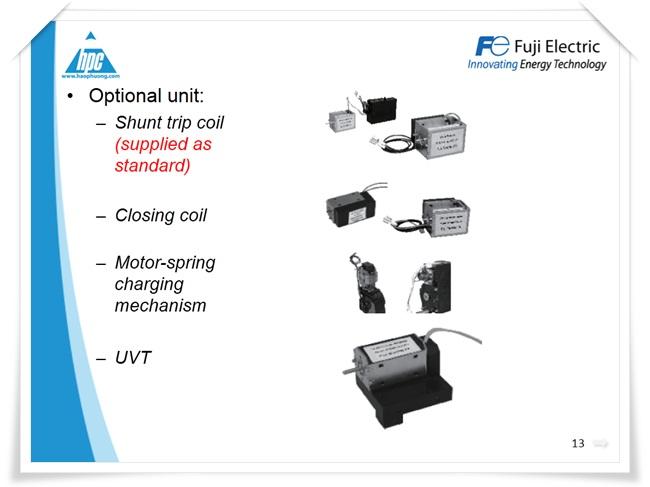 Máy cắt hạ thế ACB Fuji Electric, ảnh 9