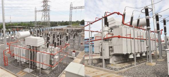 Hệ thống điện được Hạo Phương lắp đặt