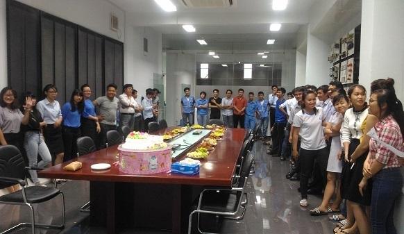 Hạo Phương tổ chức sinh nhật cho nhân viên tháng 6, ảnh 1