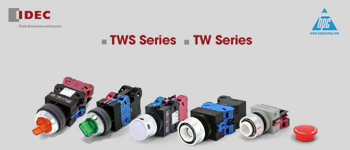 IDEC sẽ ngừng sản xuất phụ kiện dòngTW φ22, TWS φ25 và φ30