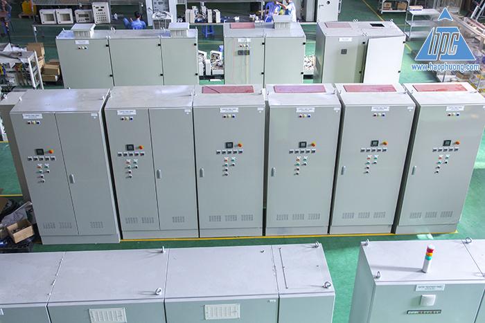 lắp đặt tủ điện cung cấp hệ thống điều khiển bơm thoát nước nhà máy cambodia