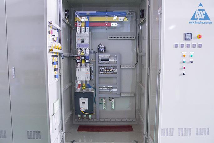 thiết bị tủ điện điều khiễn hệ thống bơm thoát nước