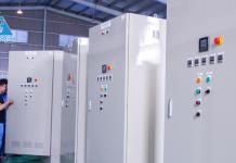 hao phương cung cấp hệ thống điều khiển bơm thoát nước nhà máy cambodia