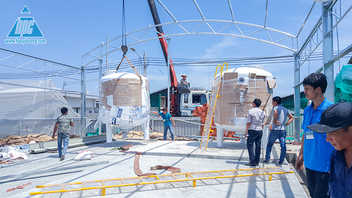dự án xây dựng nhà xử lý nước mặn nuôi tôm giống, ảnh 6