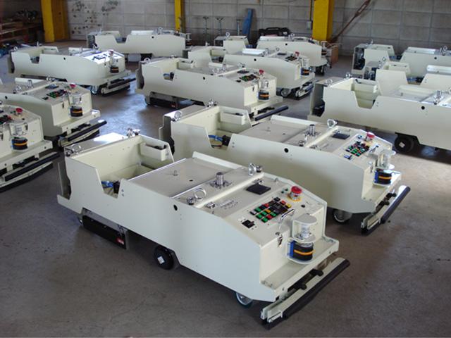 Hình ảnh xe tự hành AGV