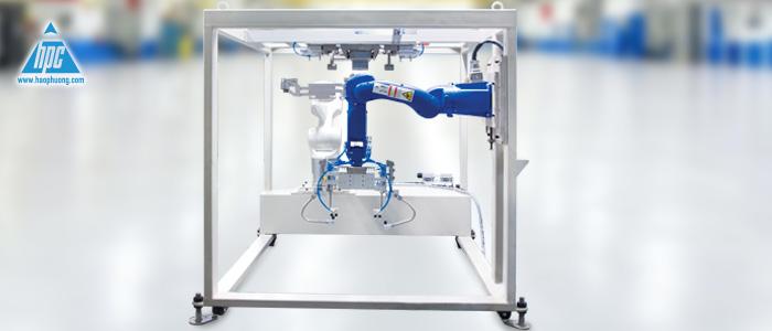 robot đóng bao