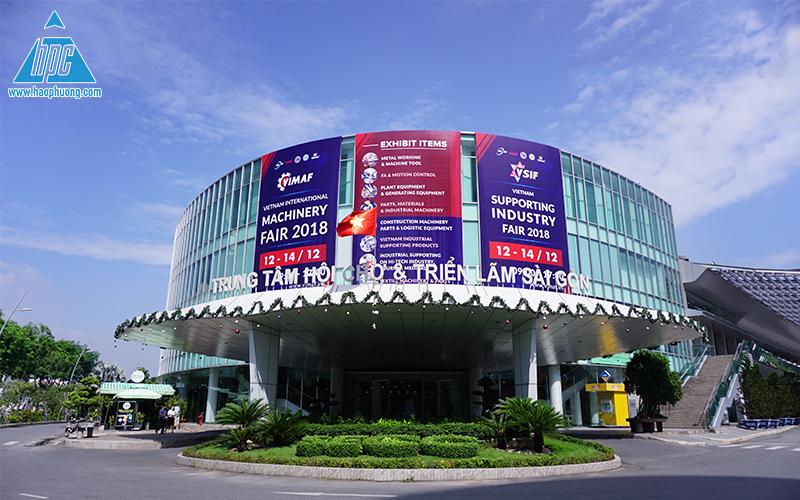 Triển lãm trung tâm hội chợ Sài Gòn