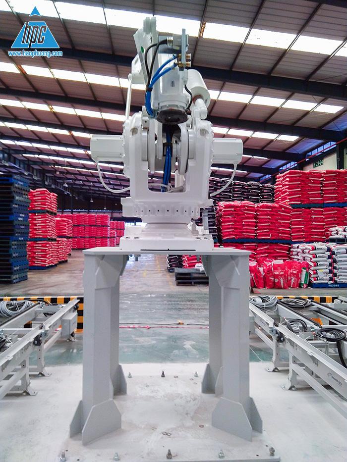 Vị trí lắp đặt robot 1