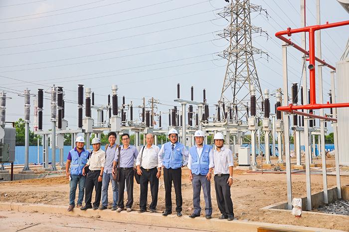 Hệ thống điện 110KV nhà máy thép Kyoei - Việt Nam
