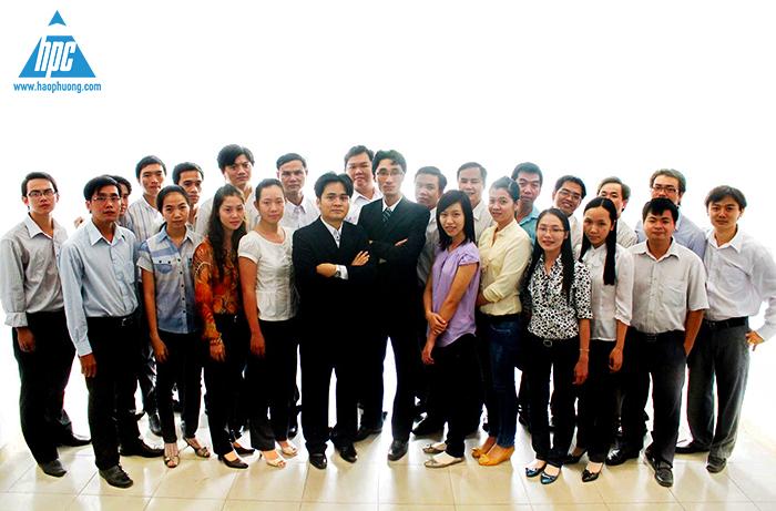 Đội ngũ nhân viên Hạo Phương (2011)