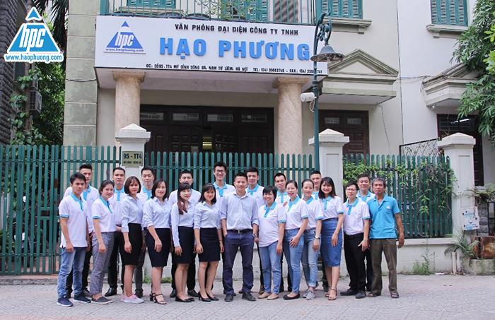 nhân viên văn phòng đại diện của Hạo Phương tại Hà Nội