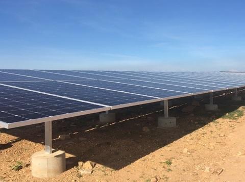 Dự án điện năng lượng mặt trời BP Solar 1